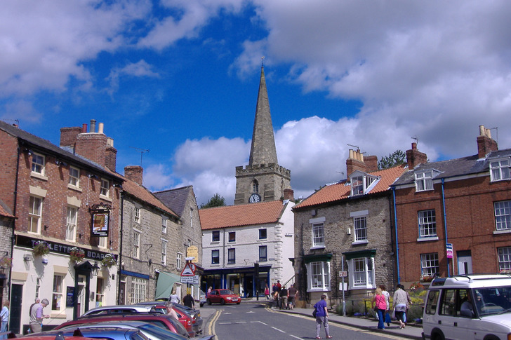 Top of the High Street in Pickering