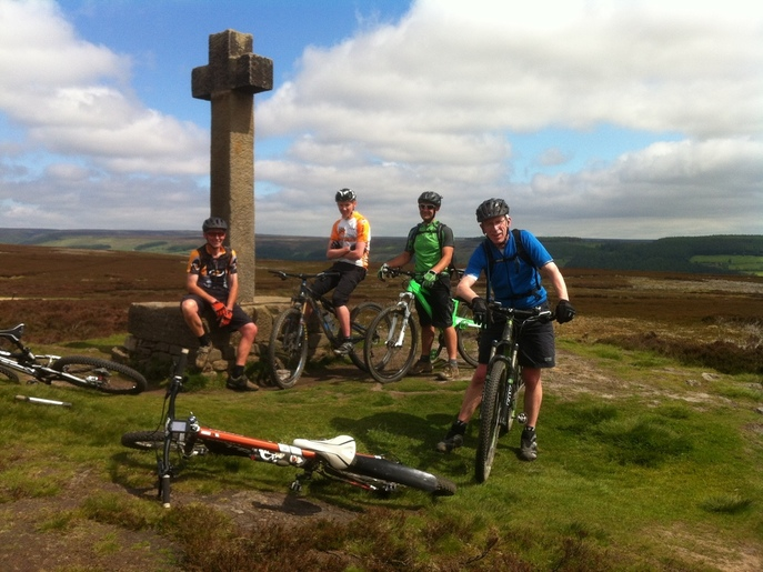Nearby North York Moors is ideal for cyclists